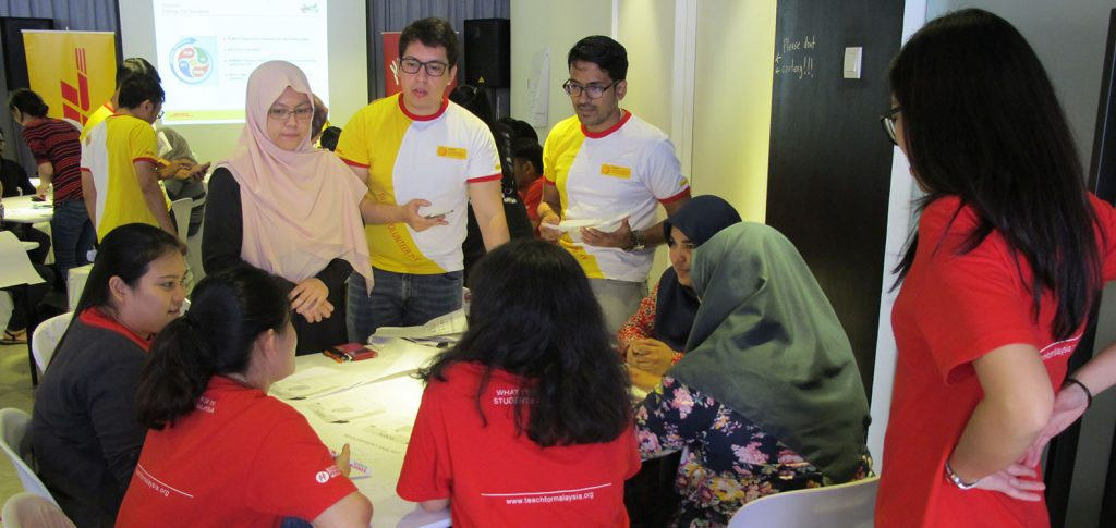 Teach For Malaysia Paperwalls